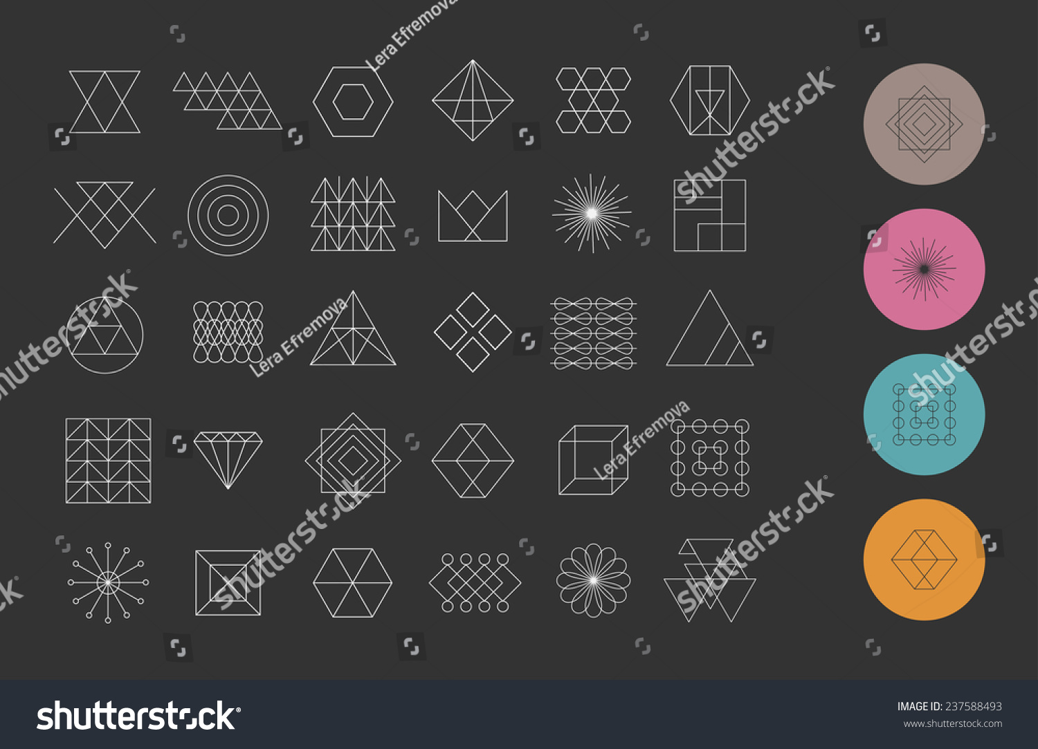 Usage of Geometric Shapes in Graphic Design  Articles