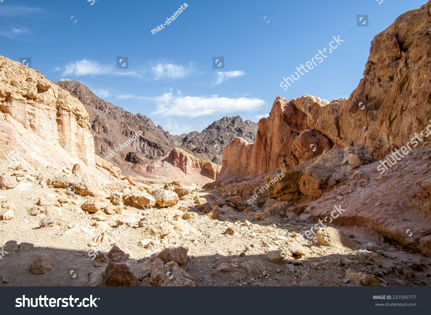 Red Canyon Eilat Mountains from Israel Travel Secrets