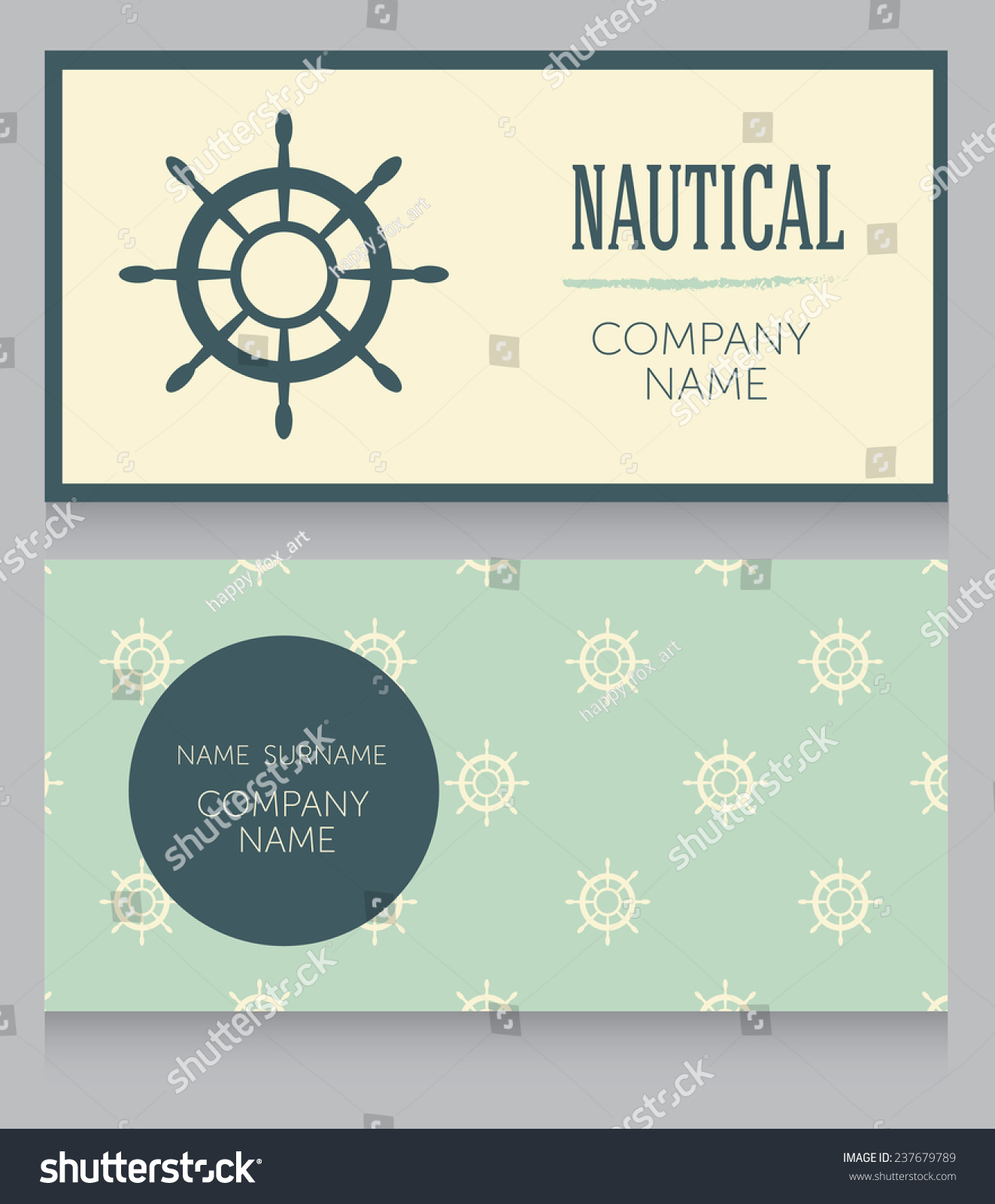 Fantastic Nautical Business Cards Gallery - Business Card Ideas ...