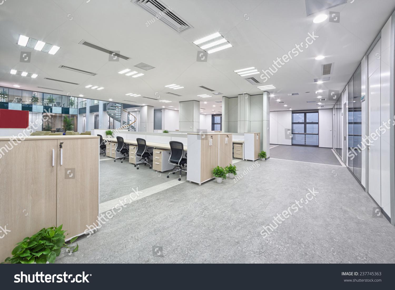 Modern Office Room Interior Stock Photo 237745363