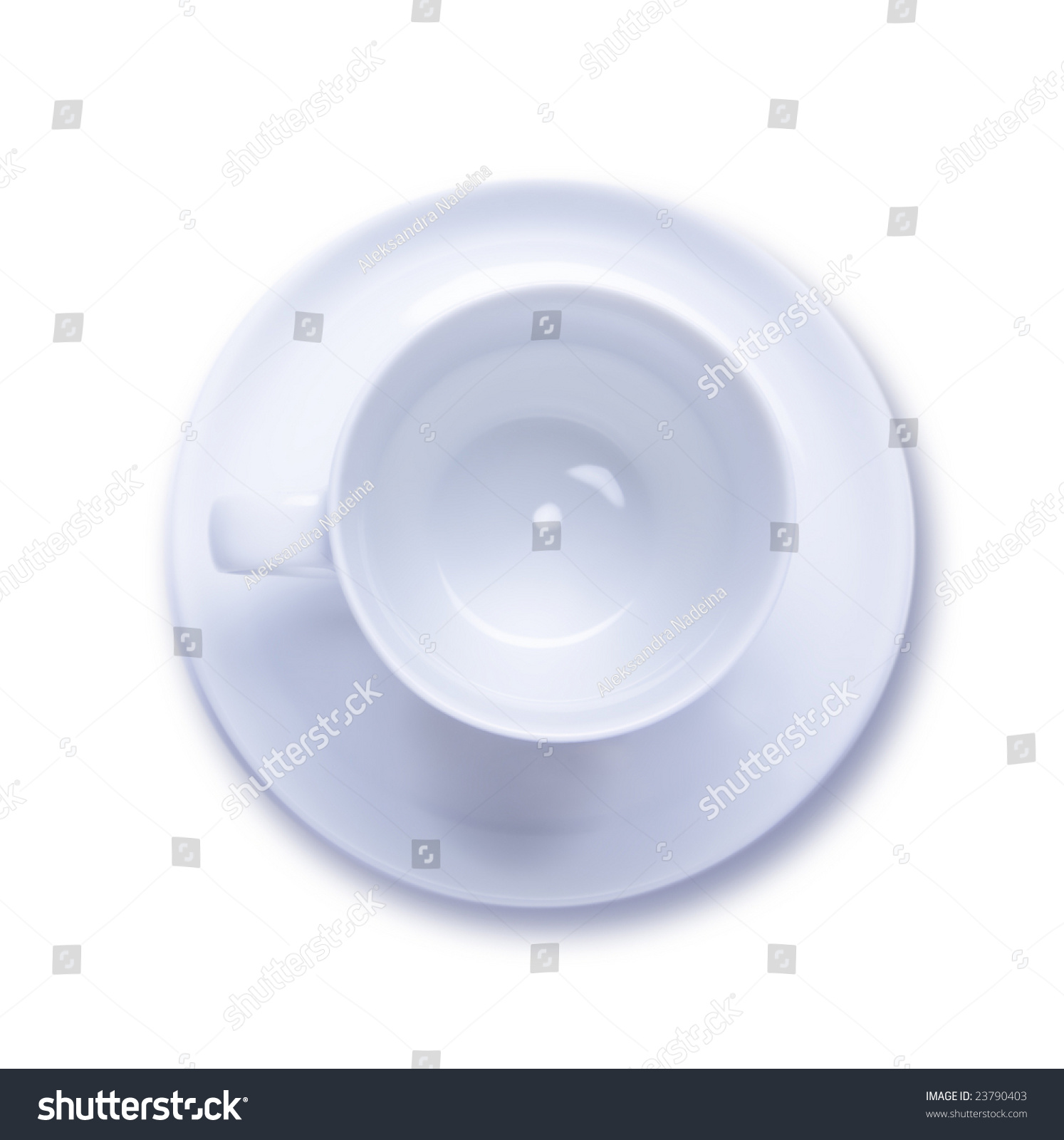 Empty Cup Top : Empty coffee cup top view stock photo shutterstock