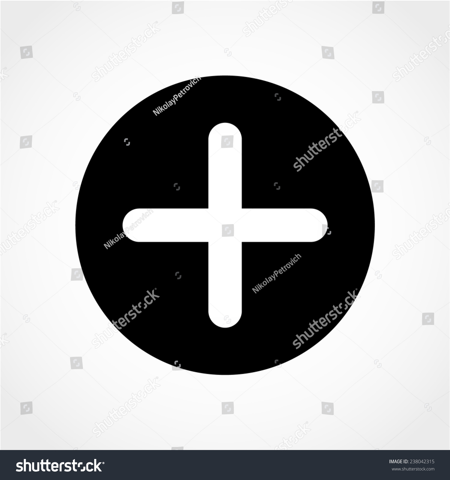 Positive symbol zoom in plus sign stock vector 238042315 positive symbol zoom in plus sign icon isolated on white background biocorpaavc Choice Image
