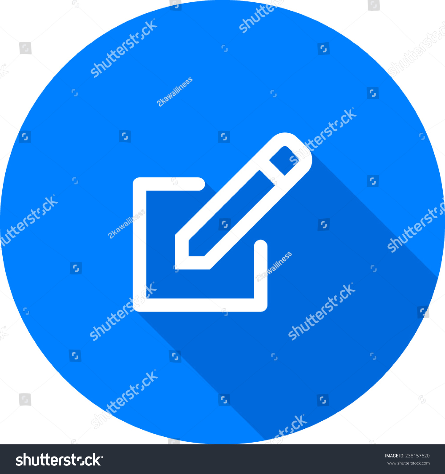 Create Icon Stock Vector 238157620 Shutterstock