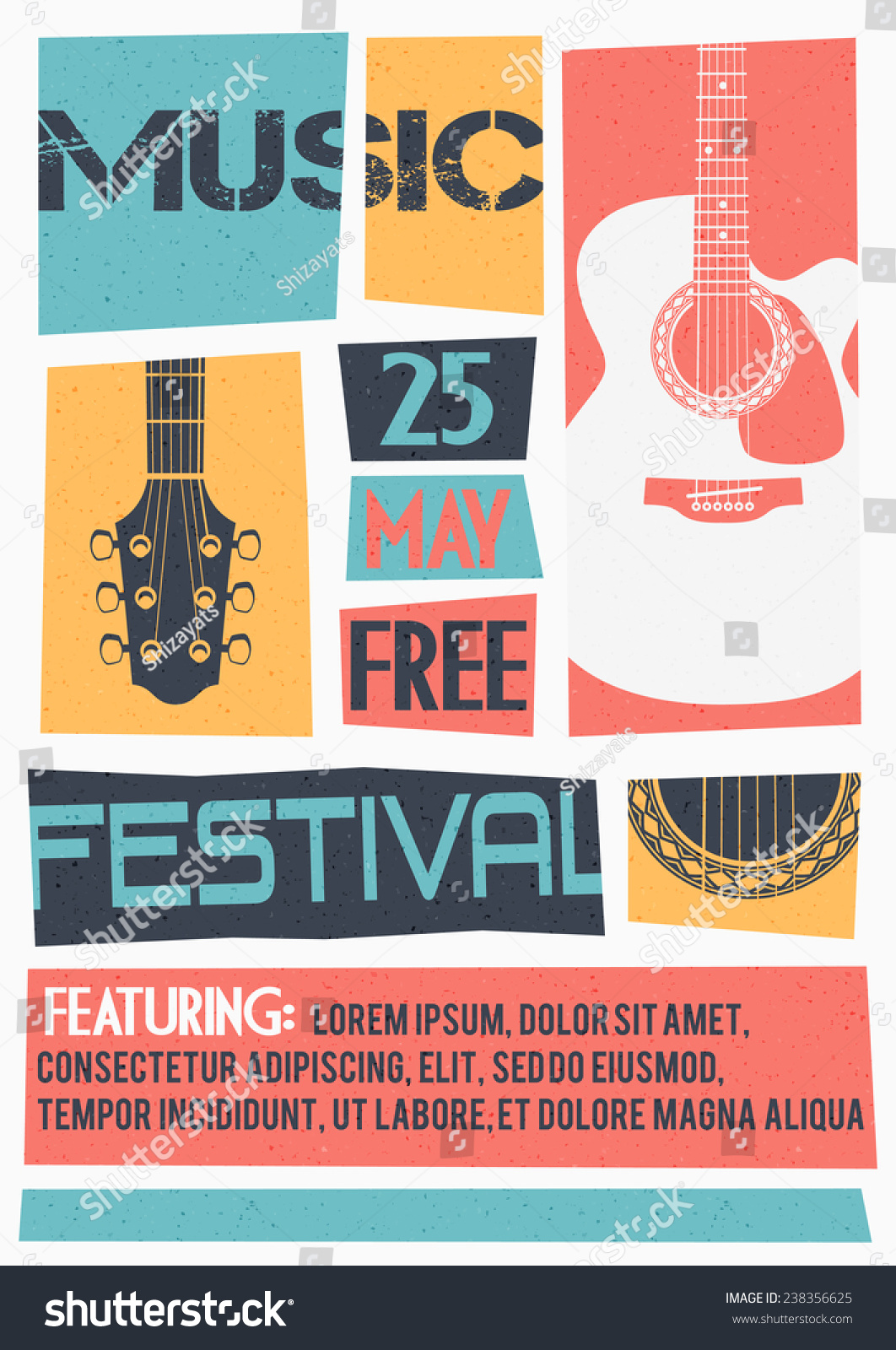 free concert poster template