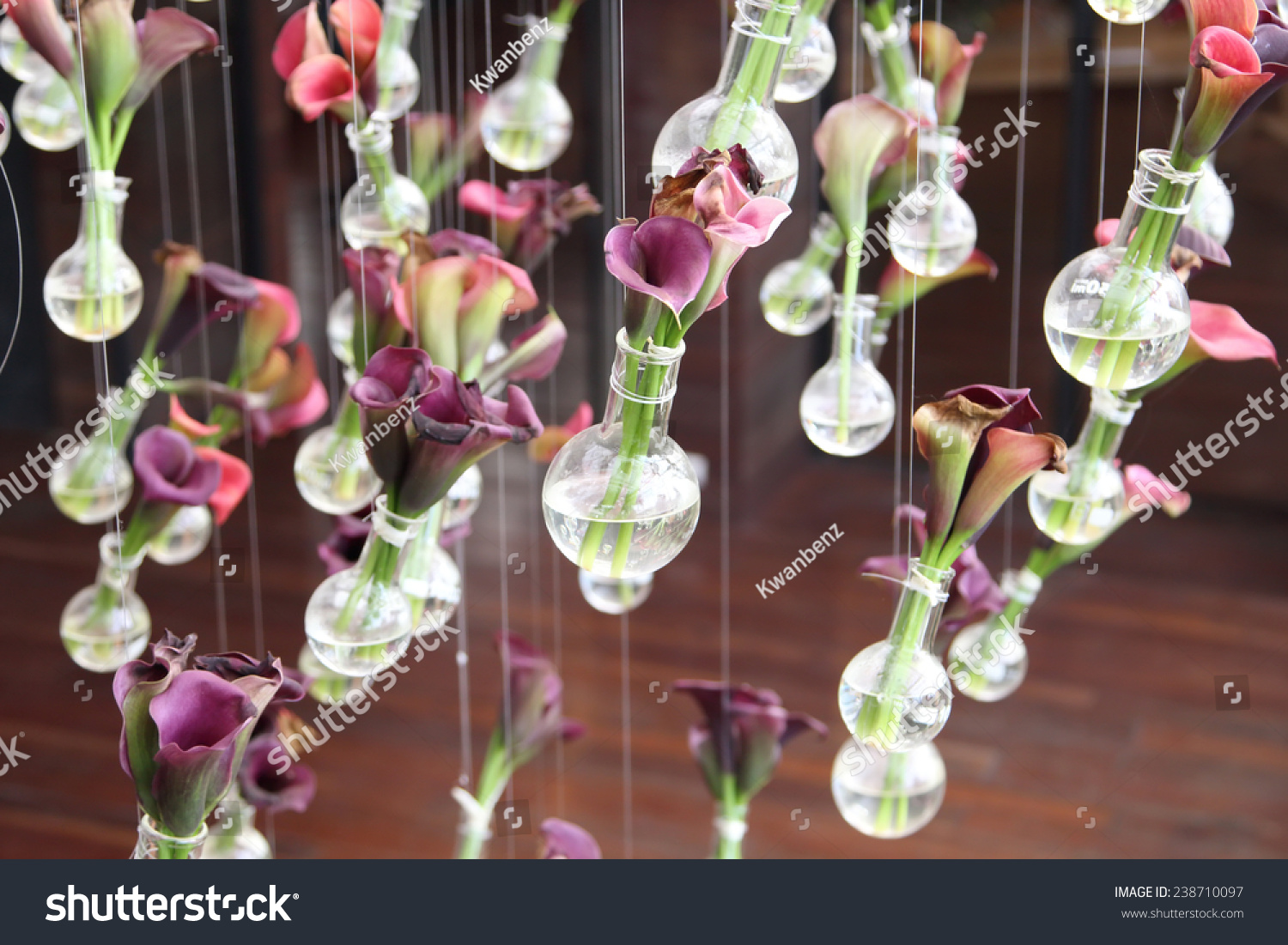 Calla lily laboratory glassware decoration stock photo edit now calla lily in laboratory glassware for decoration izmirmasajfo