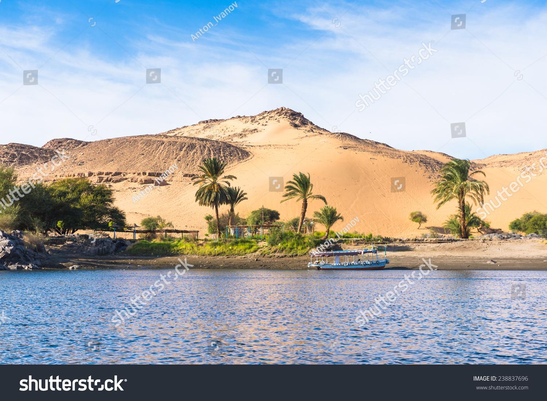 Sunset Sand Dunes On Coastline Nile Stock Photo Edit Now 238837696