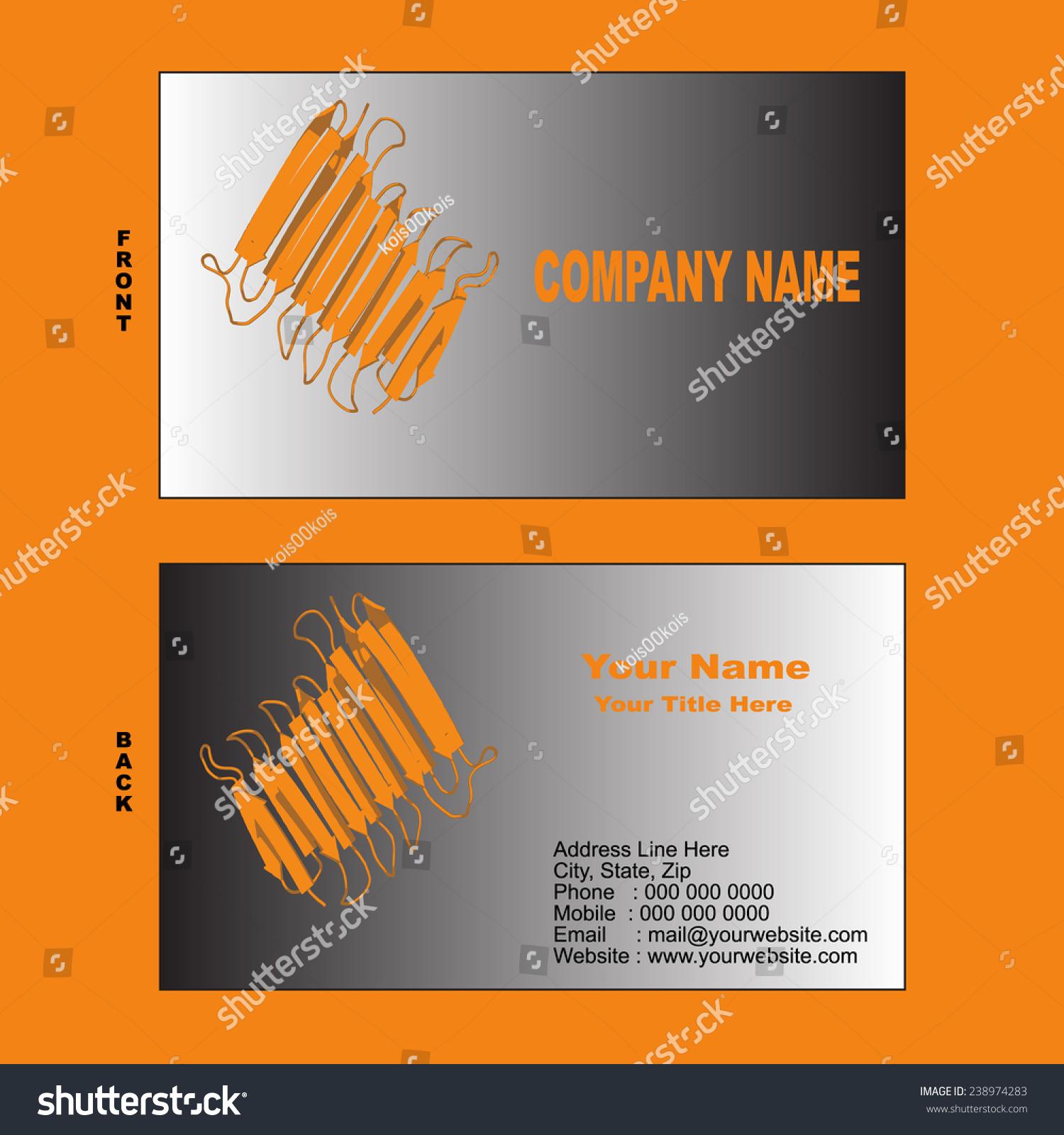 Biotechnologythemed business card templates betasheet protein stock biotechnologythemed business card templates betasheet protein stock vector 238974283 shutterstock colourmoves