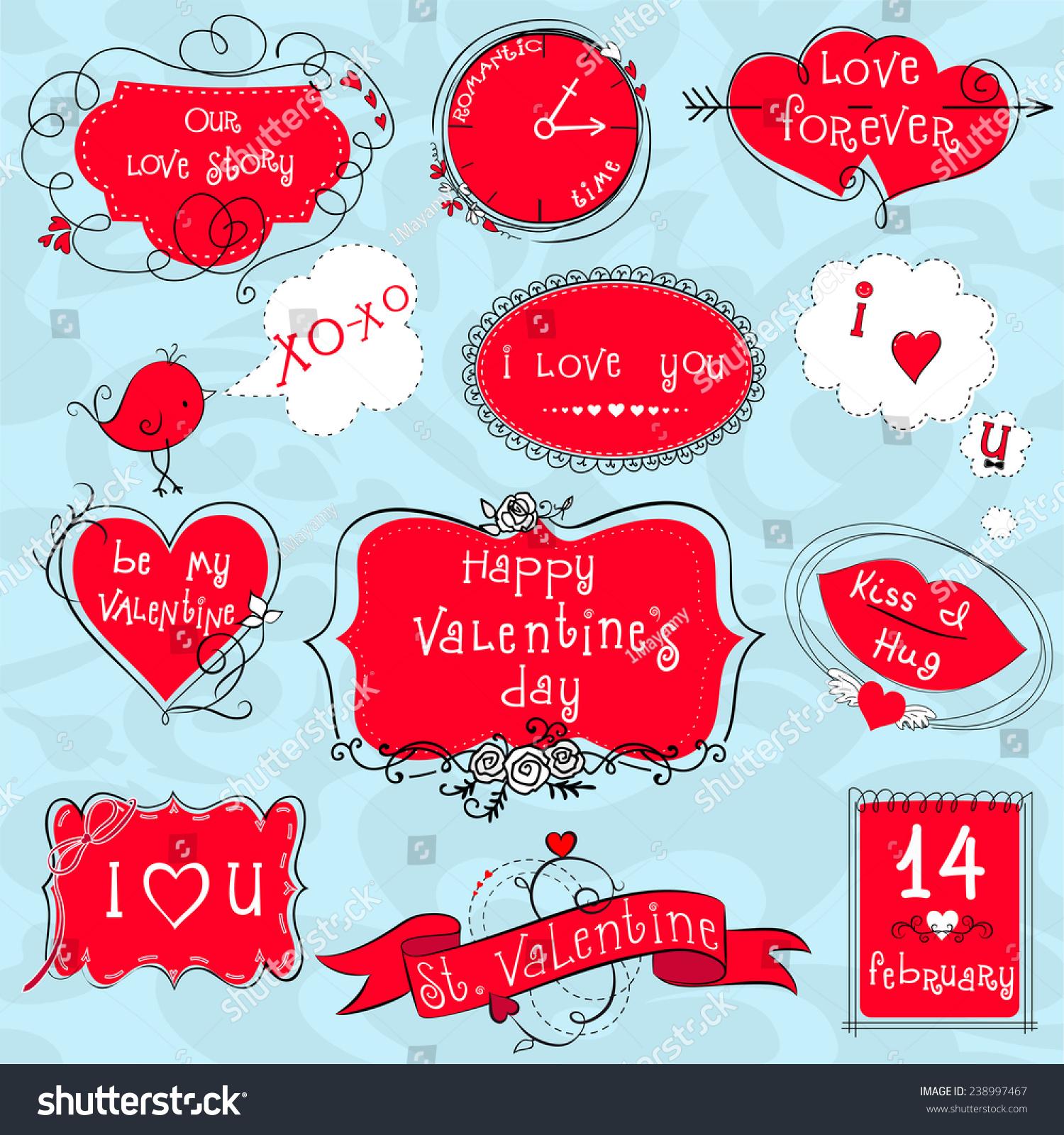 Doodle Valentine Frames