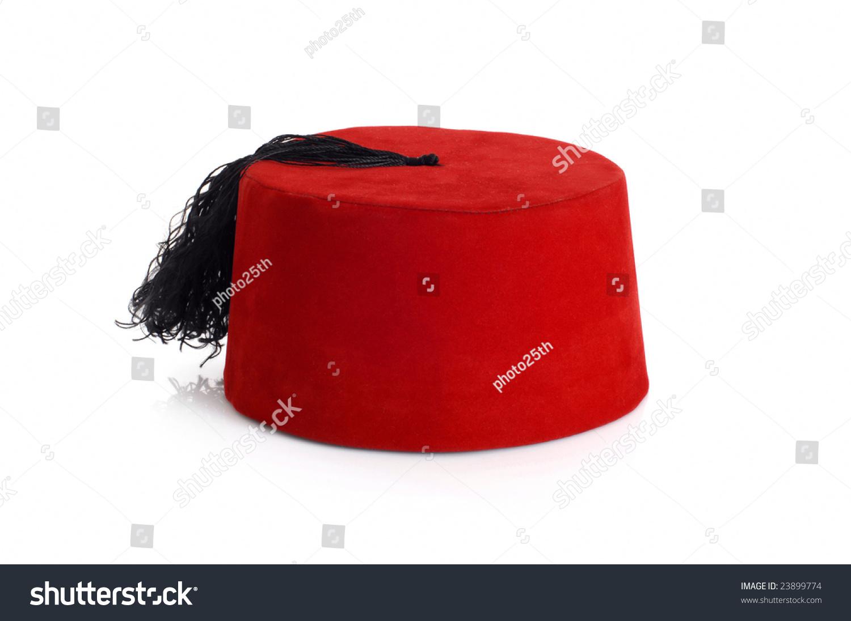 Ottoman Hat On The White Stock Photo 23899774 Shutterstock