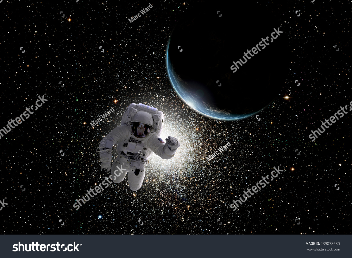 an astronaut in the spaceship sees the sky as - photo #9