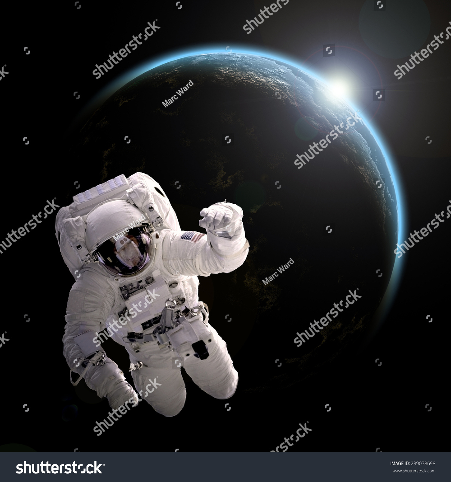 an astronaut in the spaceship sees the sky as - photo #30
