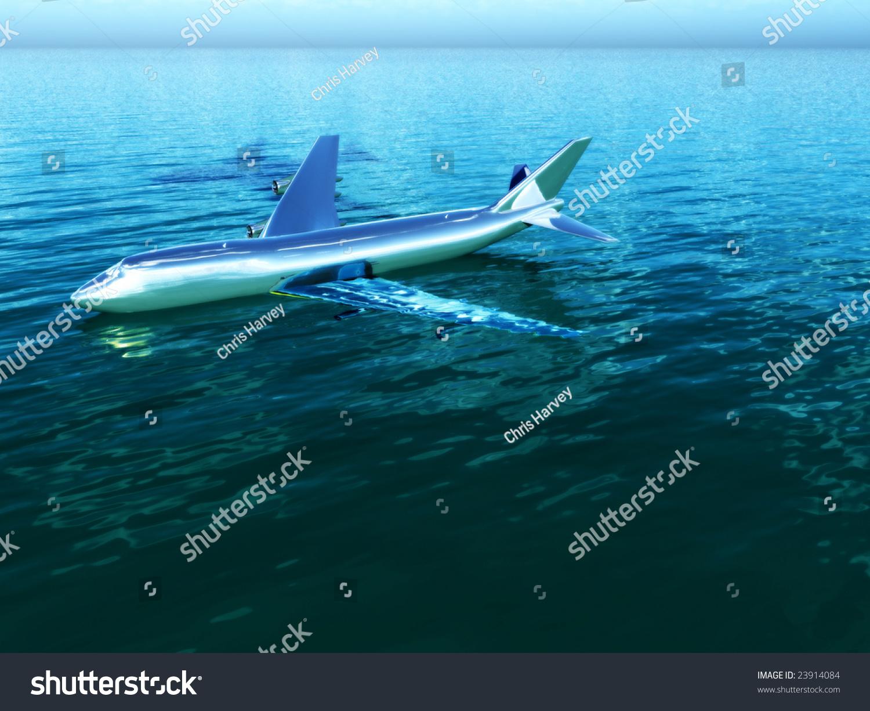 plane crash in water stock photo 23914084 shutterstock