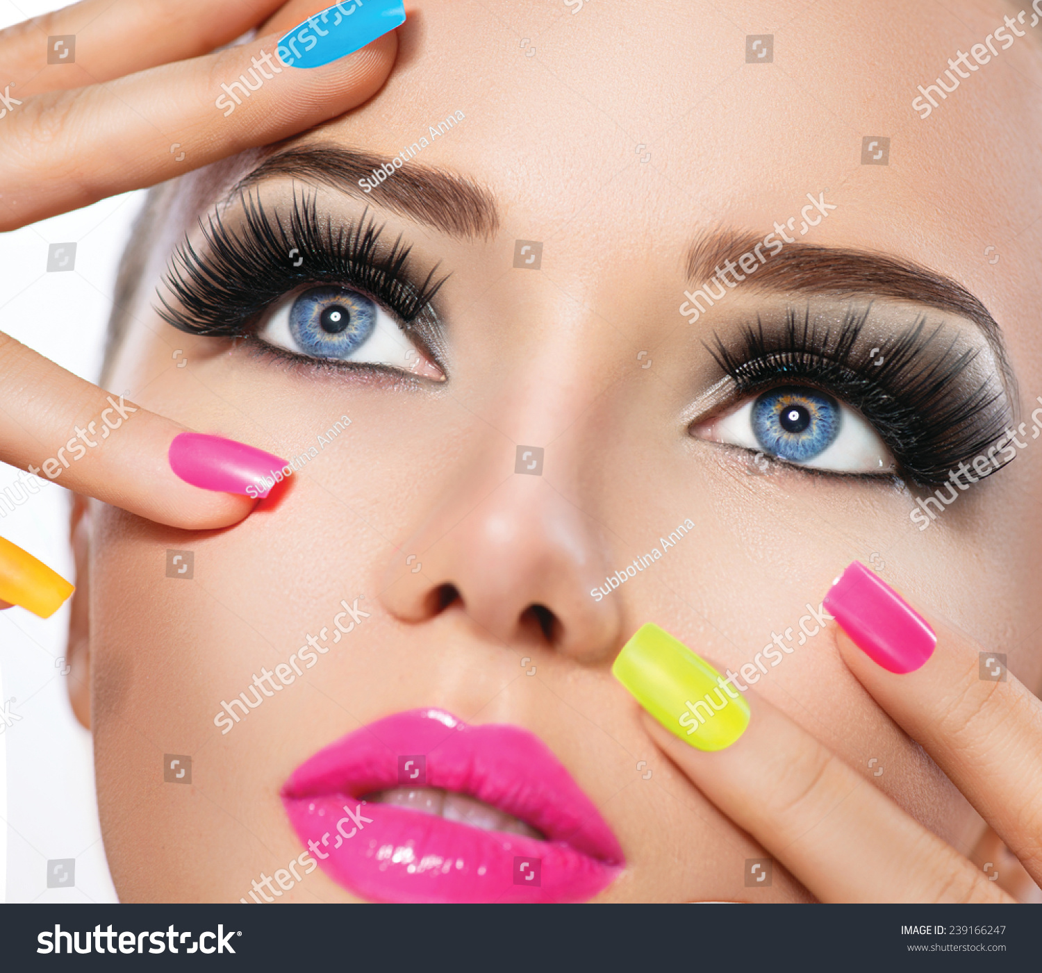 Nail polish girls