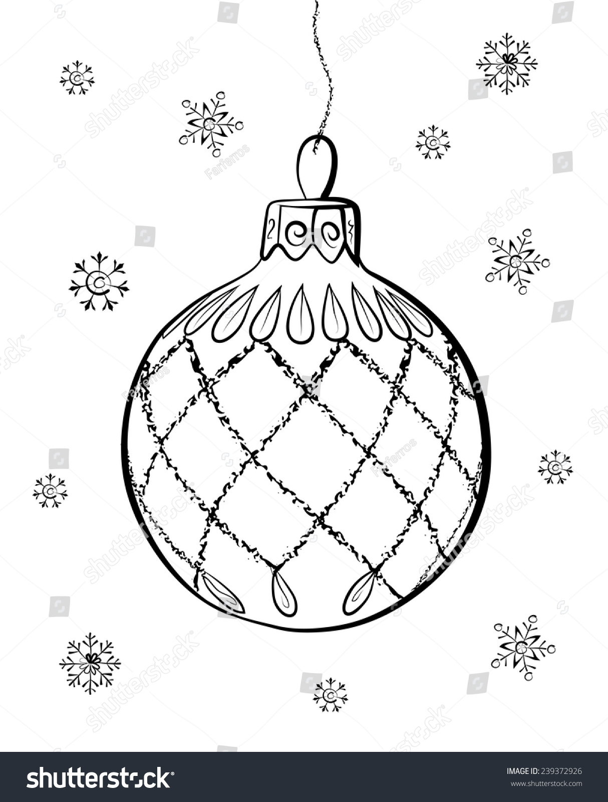Christmas Decorations How To Draw | Billingsblessingbags.org