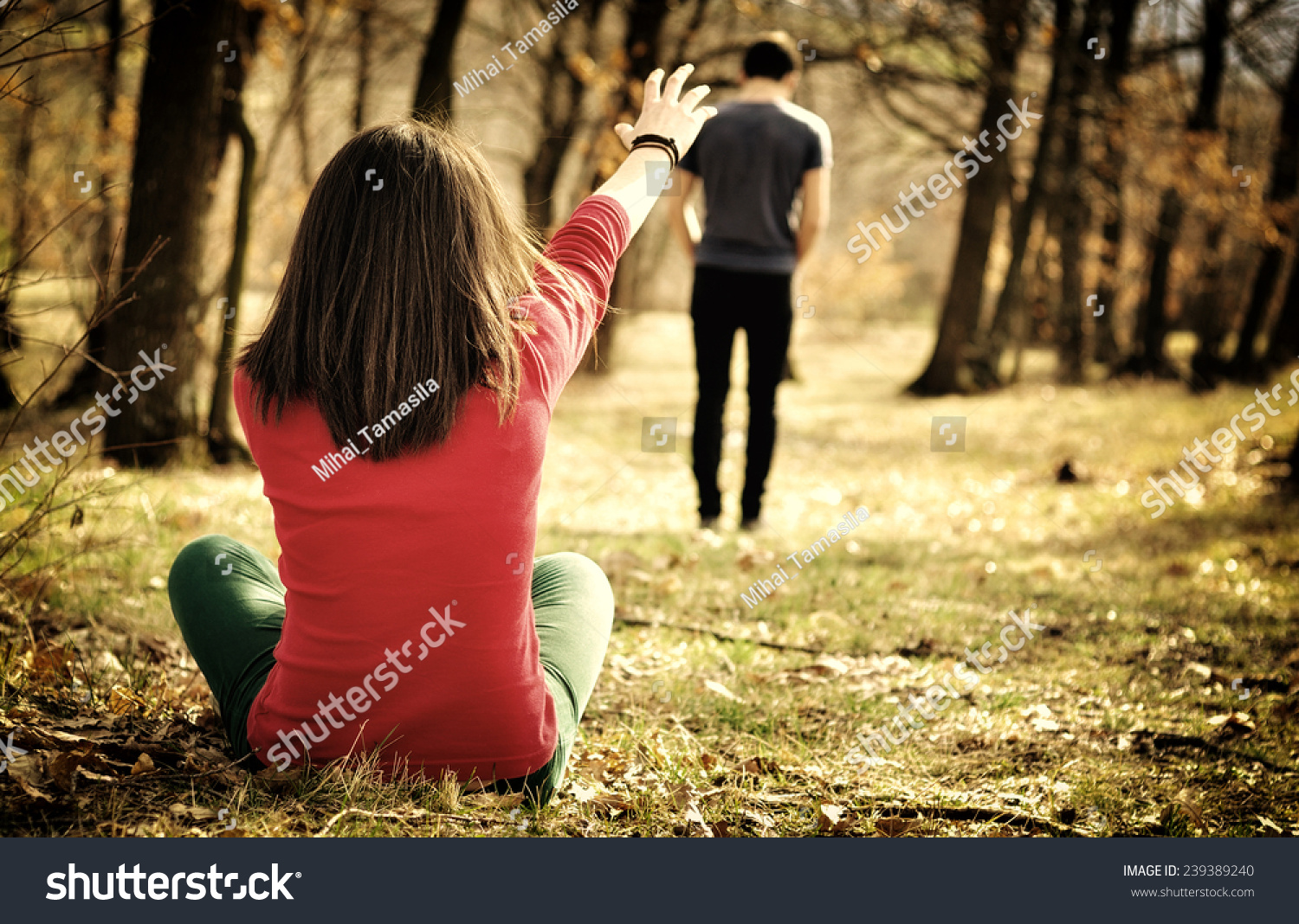 Love Breakup Wallpaper For Boy : Young couple Breaking Up. Girl Shouting Out For Boy Stock Photo 239389240 : Shutterstock