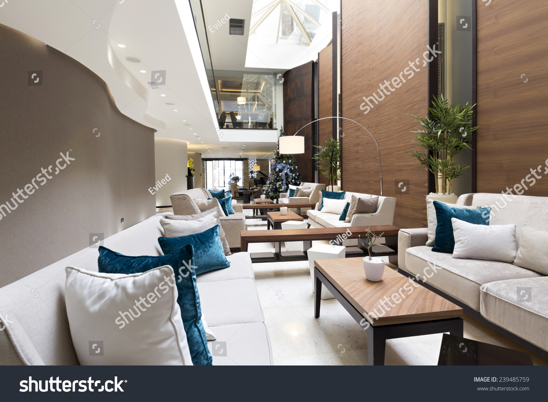 Hotel lobby furniture - Hotel Lobby Cafe Interior