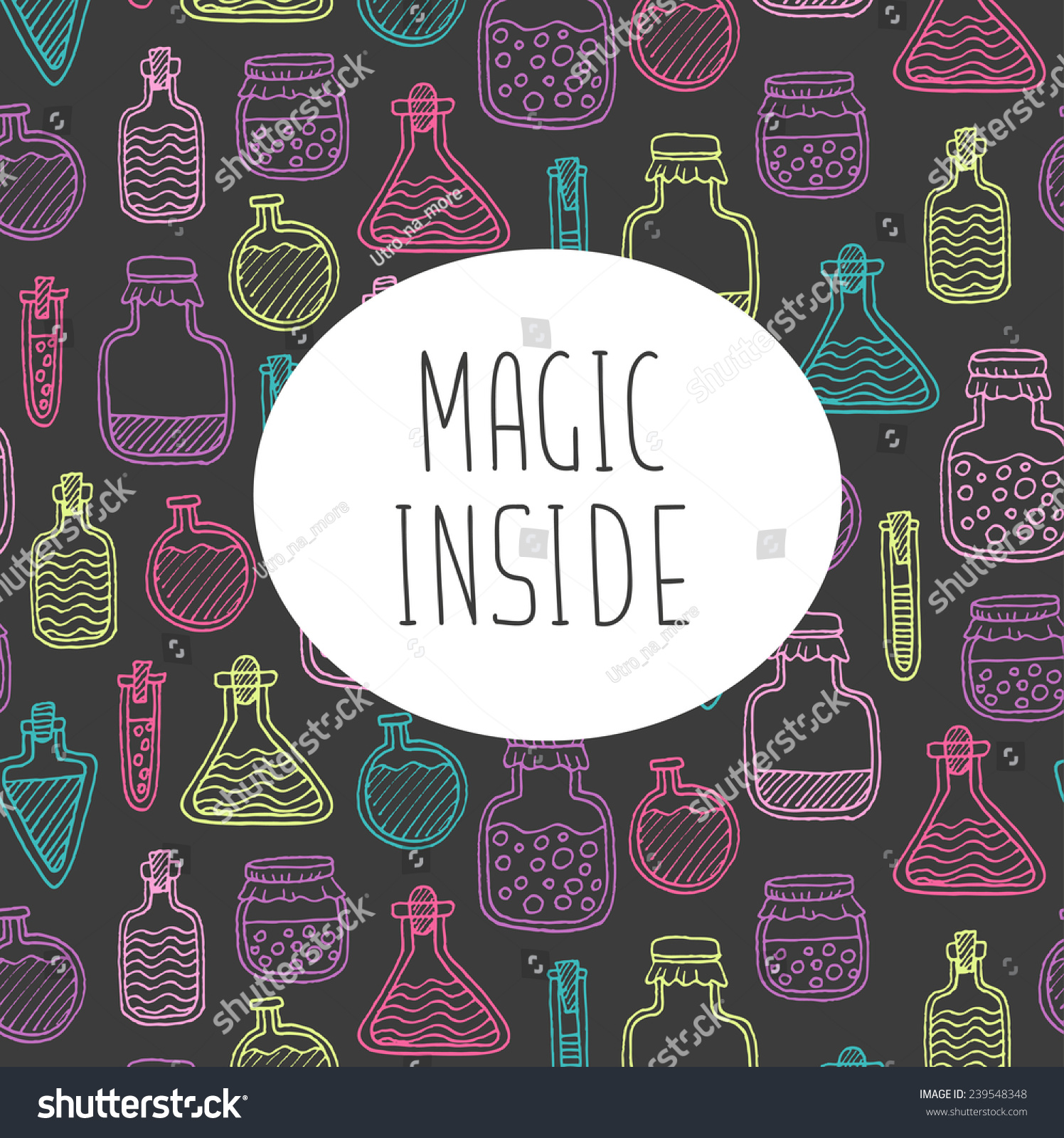 Alchemy magic craft greeting card stock vector 239548348 shutterstock alchemy magic craft greeting card kristyandbryce Images