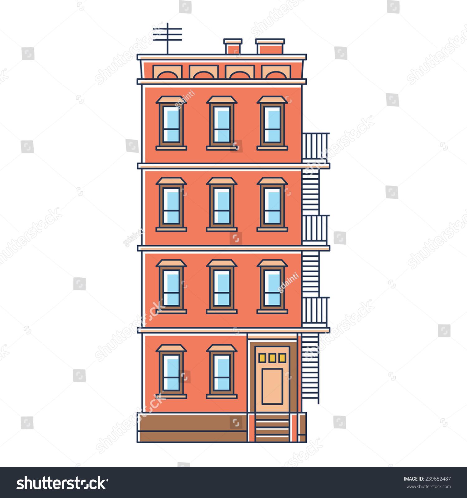 Vector Illustration New York United States Stock Vector 239652487 Shutterstock