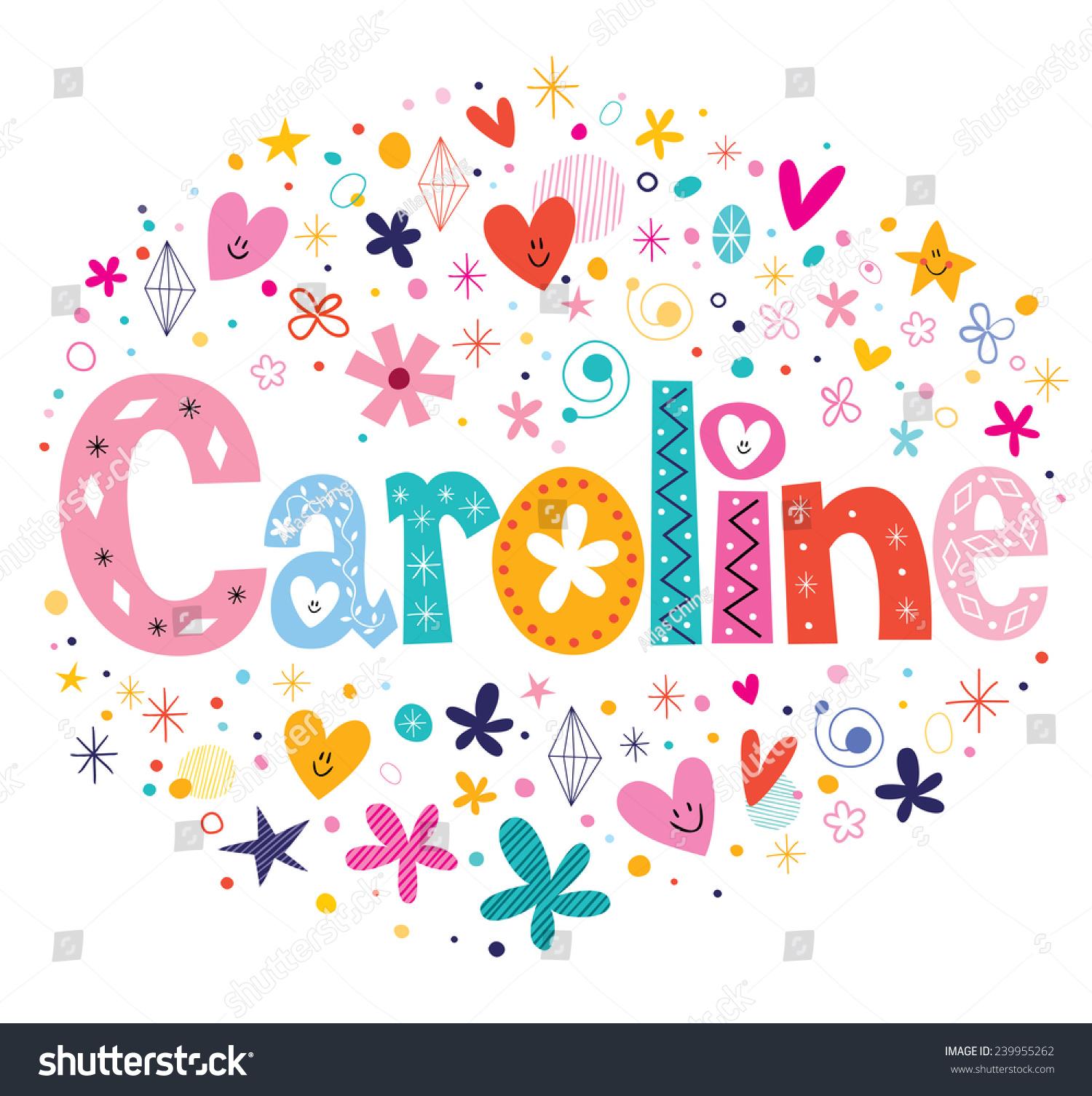 Gallery For gt Caroline Name