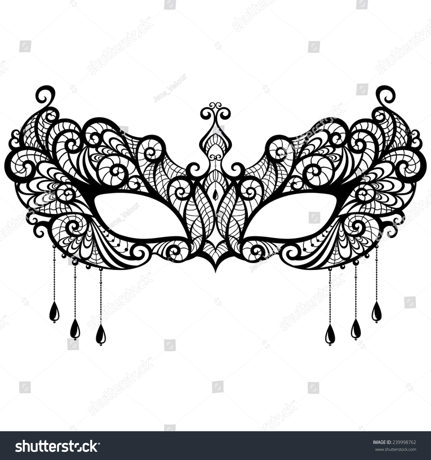 Fancy Masquerade Masks Templates. Swirl, Pink, Decor, Border Clip ...