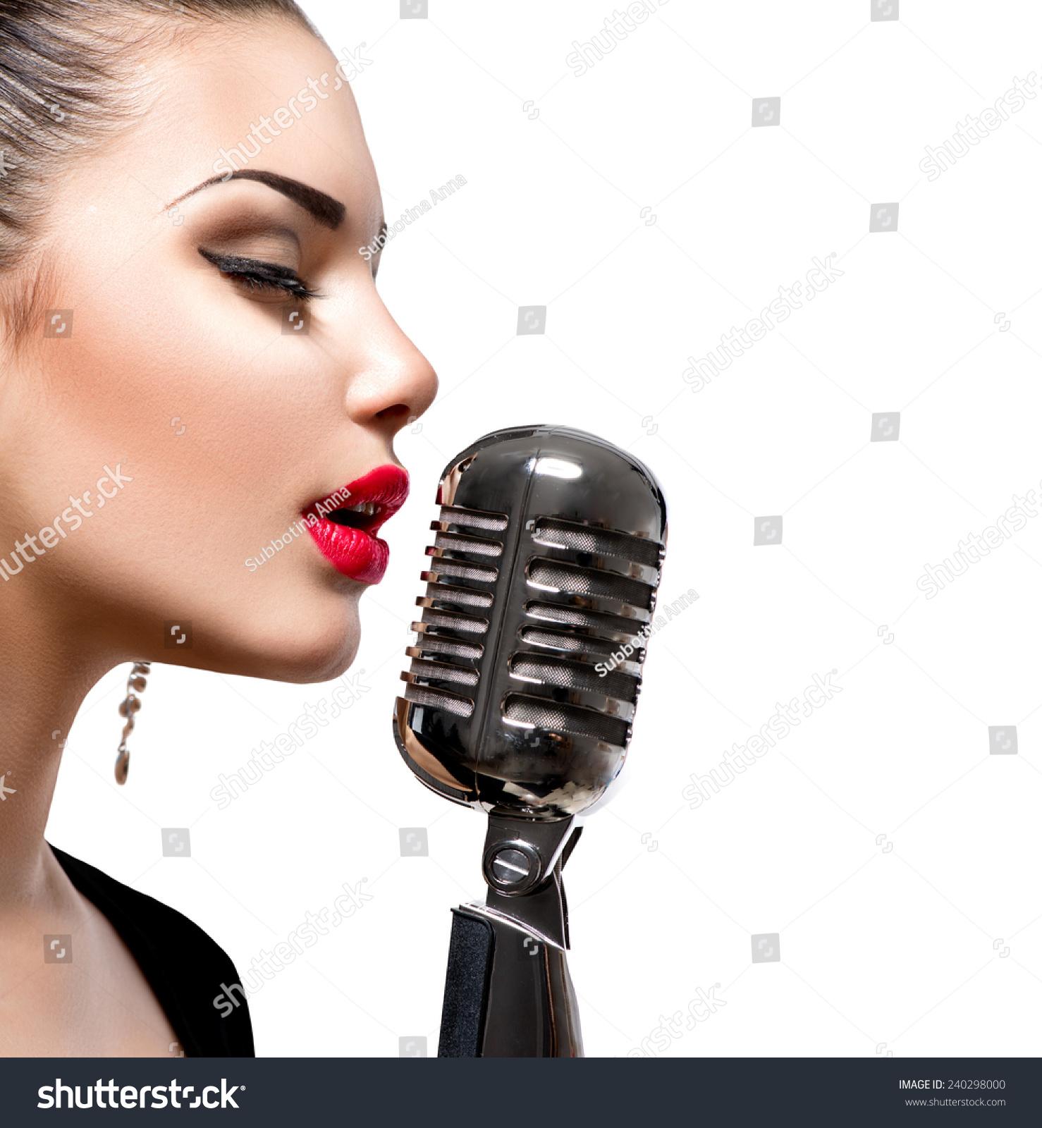 singing the girl retro - photo #6