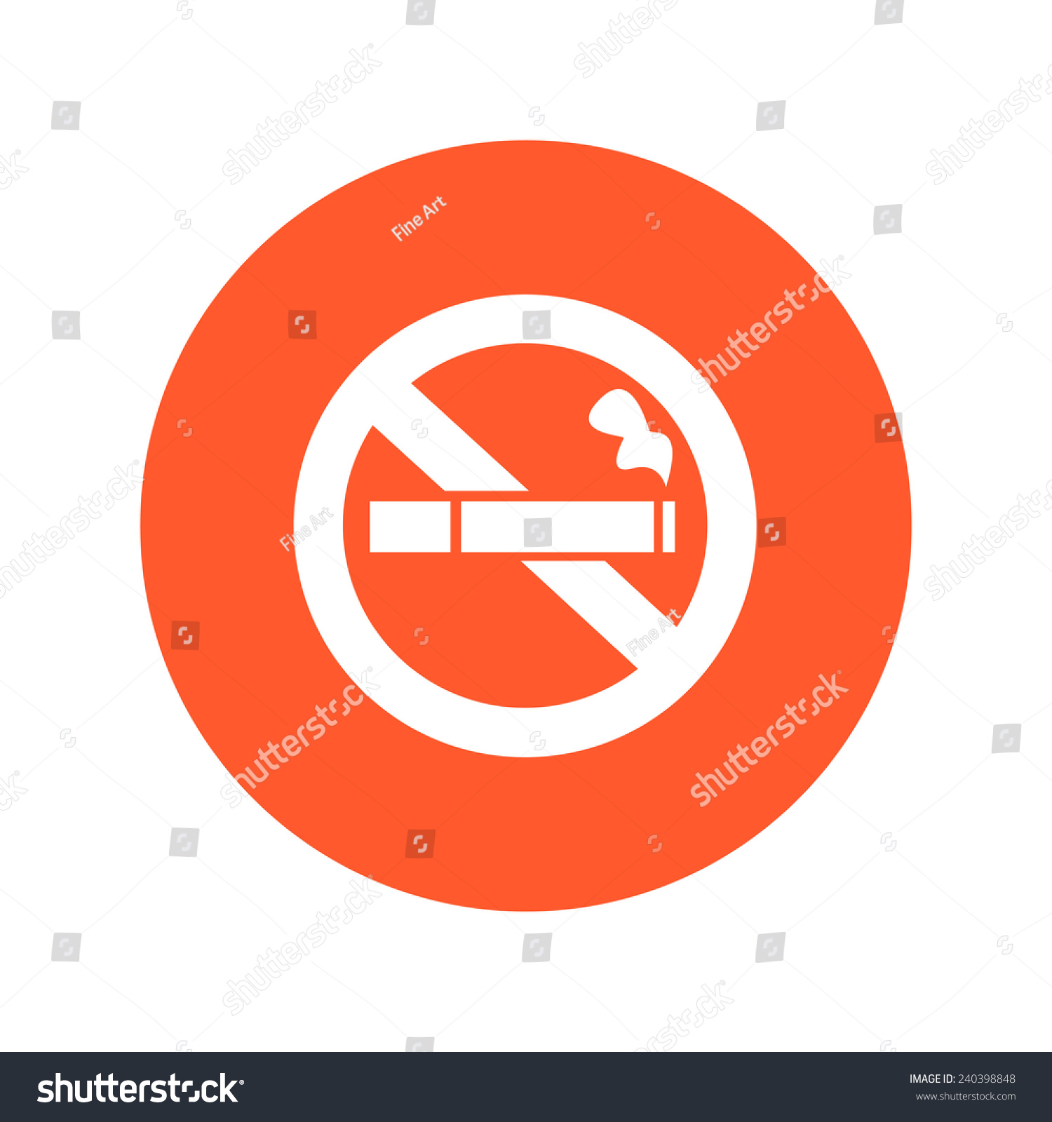 No smoke icon stop smoking symbol stock vector 240398848 shutterstock no smoke icon stop smoking symbol vector illustration filter tipped cigarette buycottarizona Images