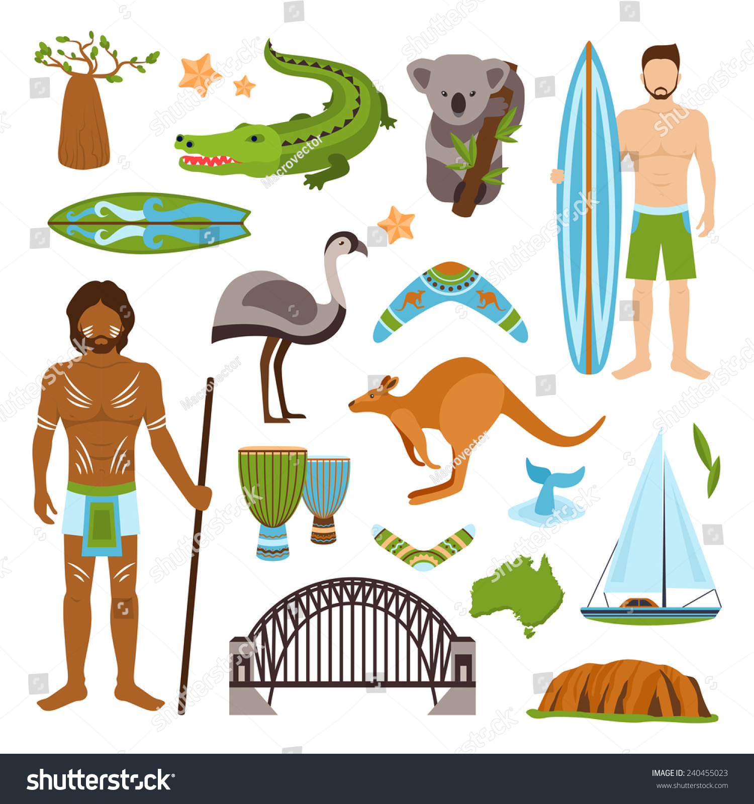 a description of the nature and culture of australia Since 1788, the primary influence behind australian culture has been anglo-celtic western culture, with some indigenous influences the.