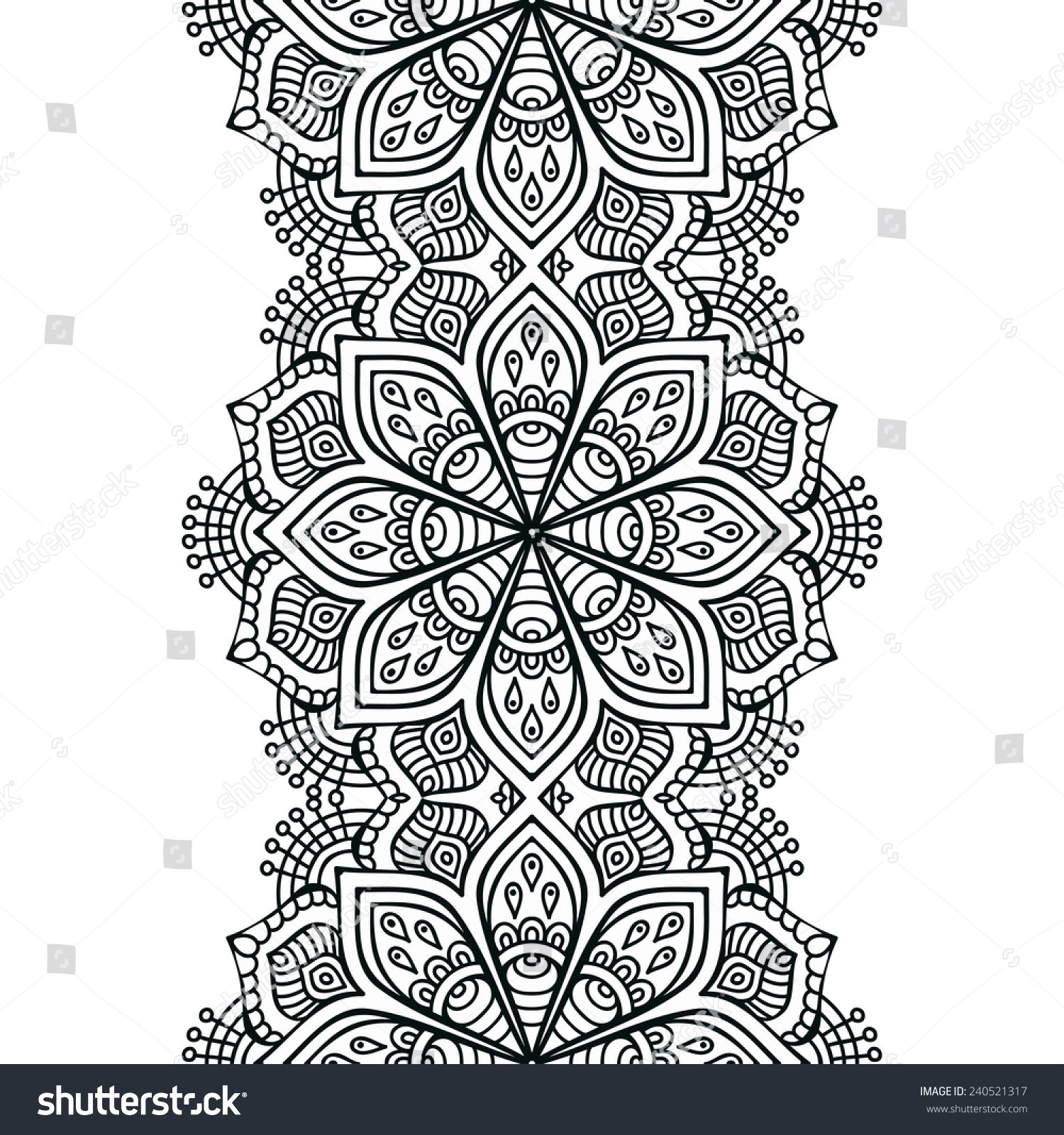 Indian patterns vector - photo#13