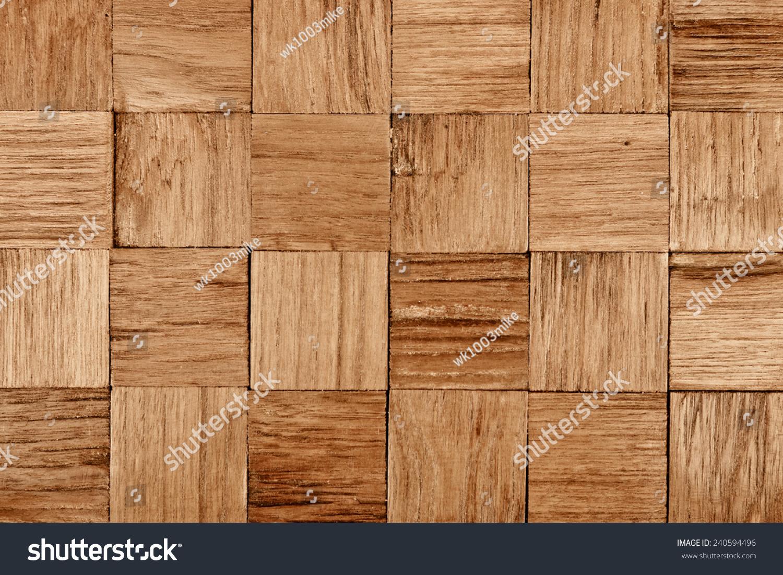 Teak Wood Stocks ~ Teak wood background texture square patterns stock photo