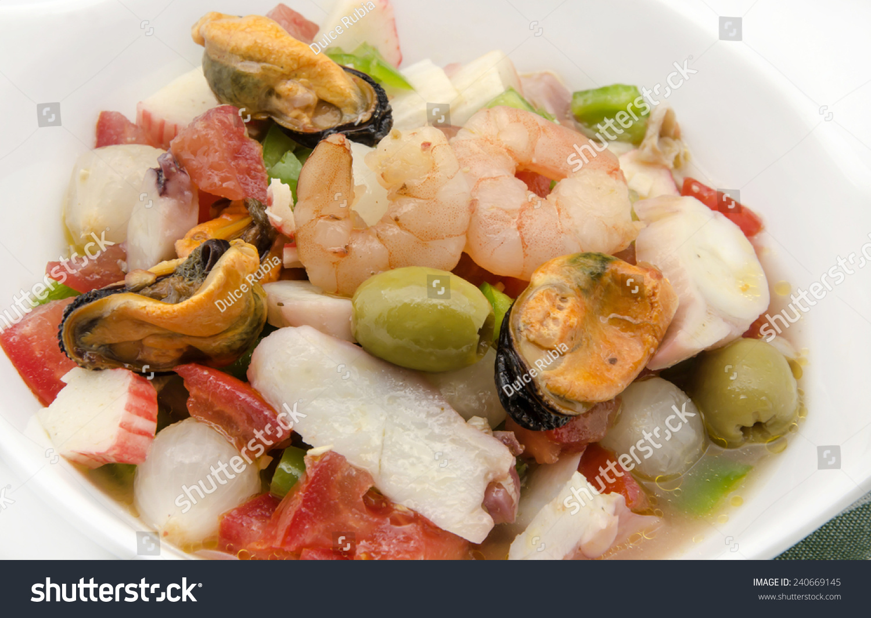 Seafood Salad Vinaigrette Olive Oil ...