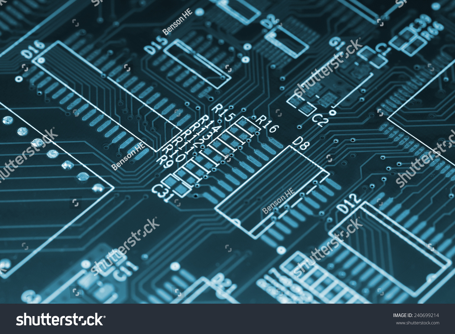 Outstanding Closeup Shot Printed Wiring Board Mounting Stock Photo Edit Now Wiring Cloud Strefoxcilixyz