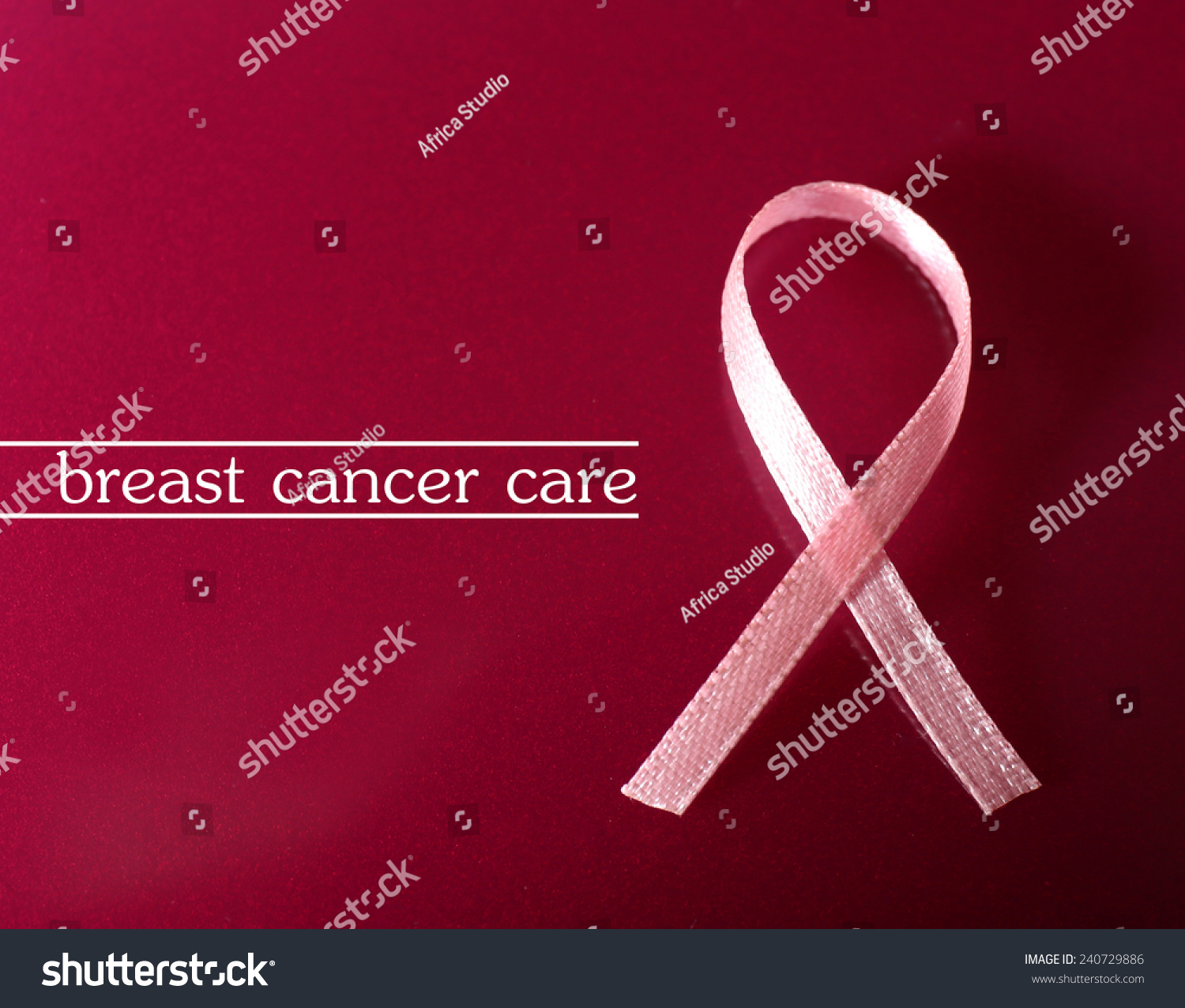 Pink breast cancer ribbon on pink stock photo 240729886 shutterstock pink breast cancer ribbon on pink background biocorpaavc