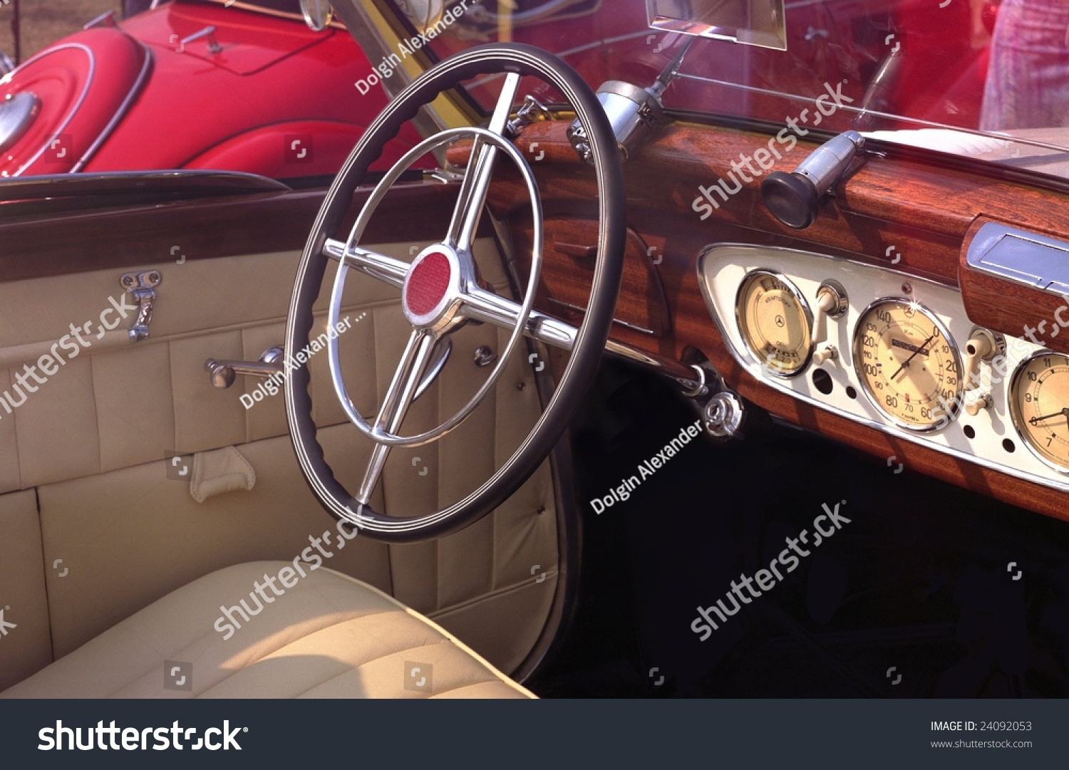 Old Car Interior Stock Photo Edit Now 24092053 Shutterstock