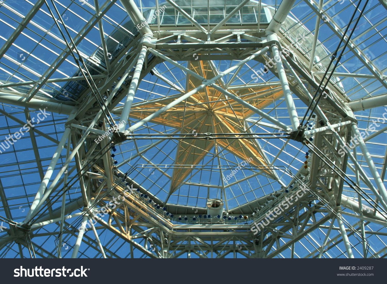Star Glass Atrium Dome Stock Photo 2409287 Shutterstock
