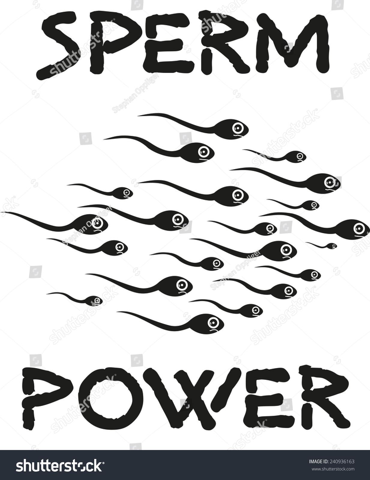Sperm Power Cartoon Stock Illustration 240936163 - Shutterstock