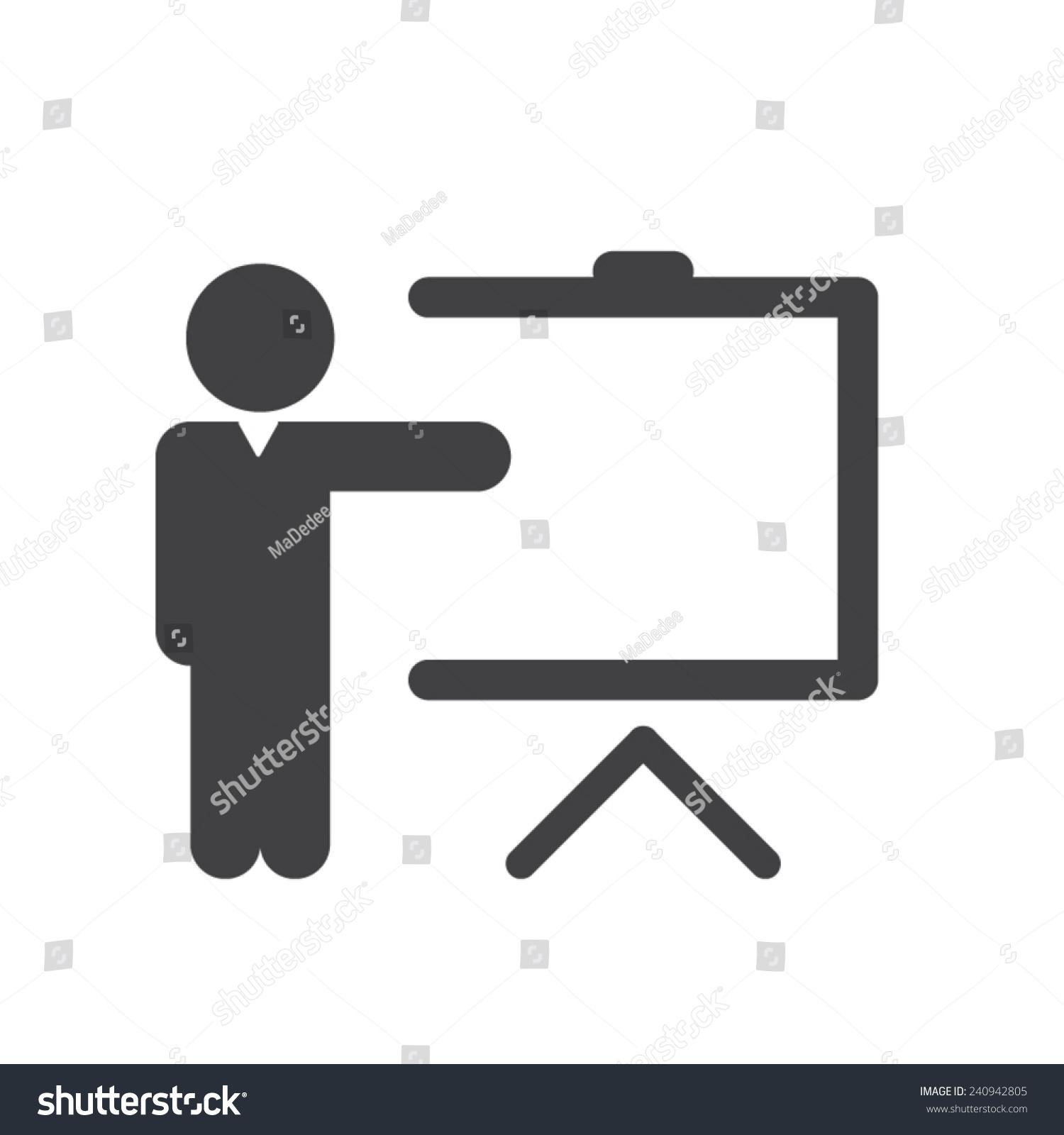 Training Icon Stock Vector 240942805 - Shutterstock