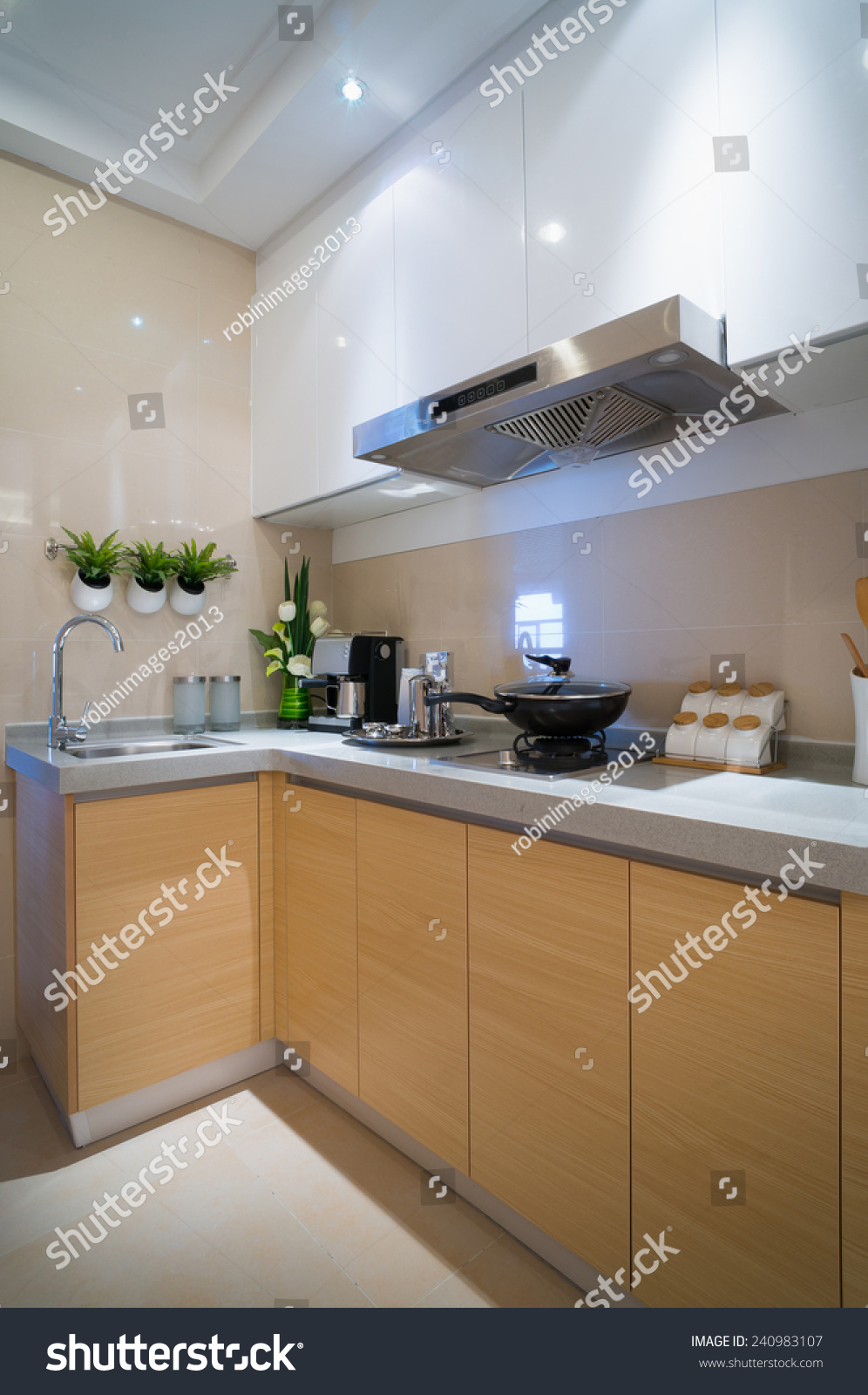 Cabinet D Architecte Nice modern kitchen nice cabinet stock photo (edit now) 240983107