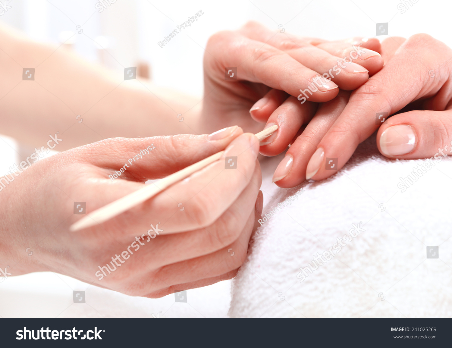 Beauty salon manicure treatment hand and nail care the for A trial beauty treatment salon