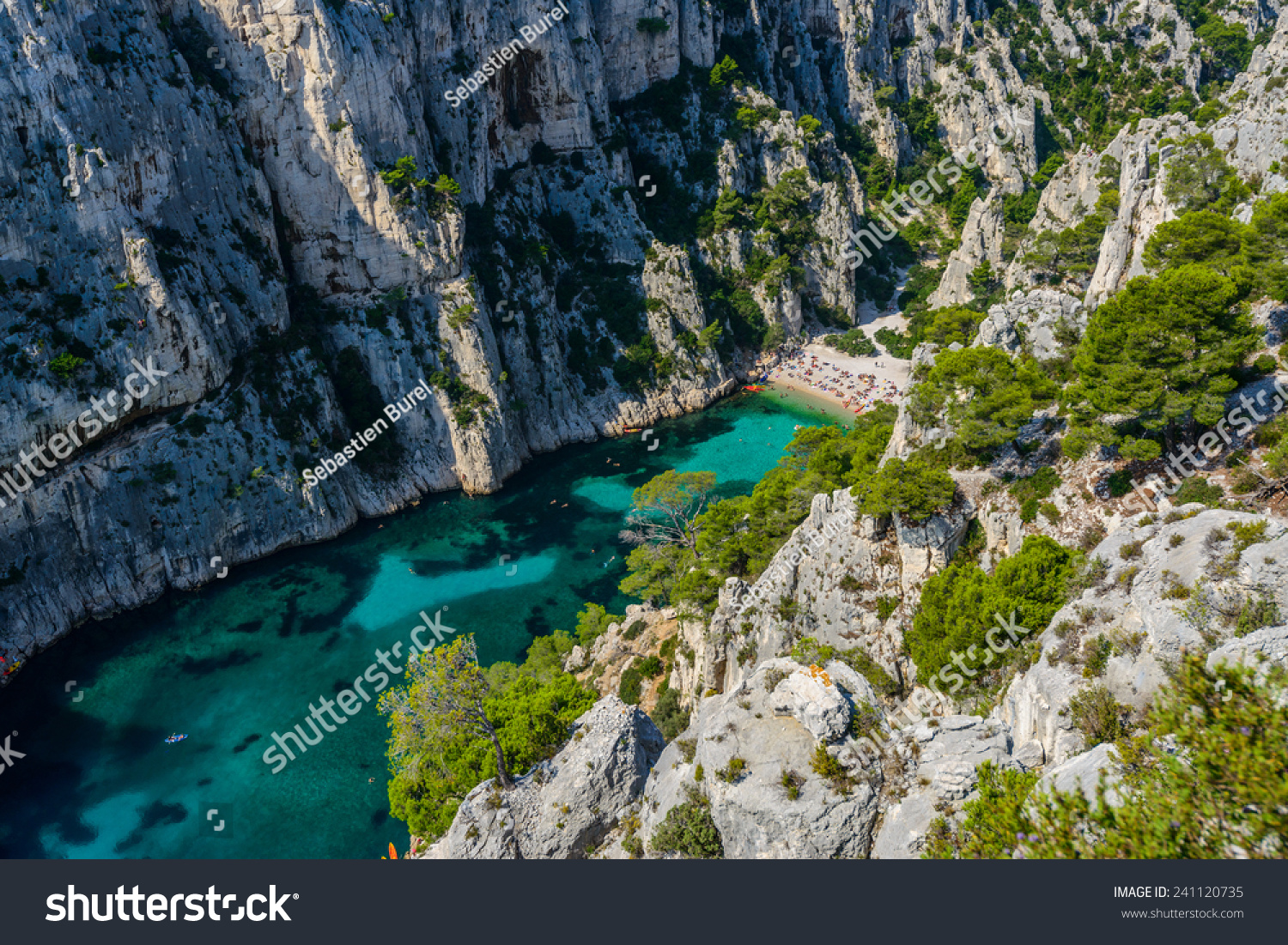 Calanques Near Cassis Provence South France Stock Photo Edit Now