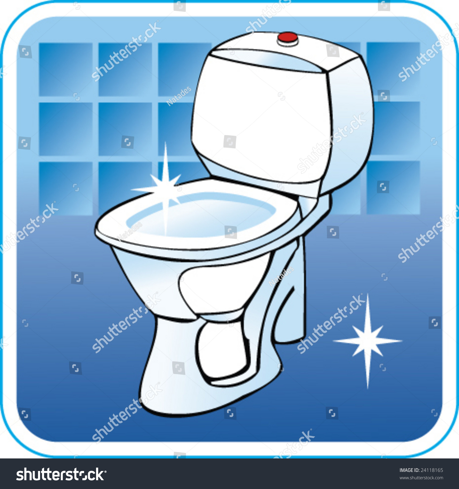 Clean Toilet Cartoon Stock Images Similar To Id 165336698 Personal