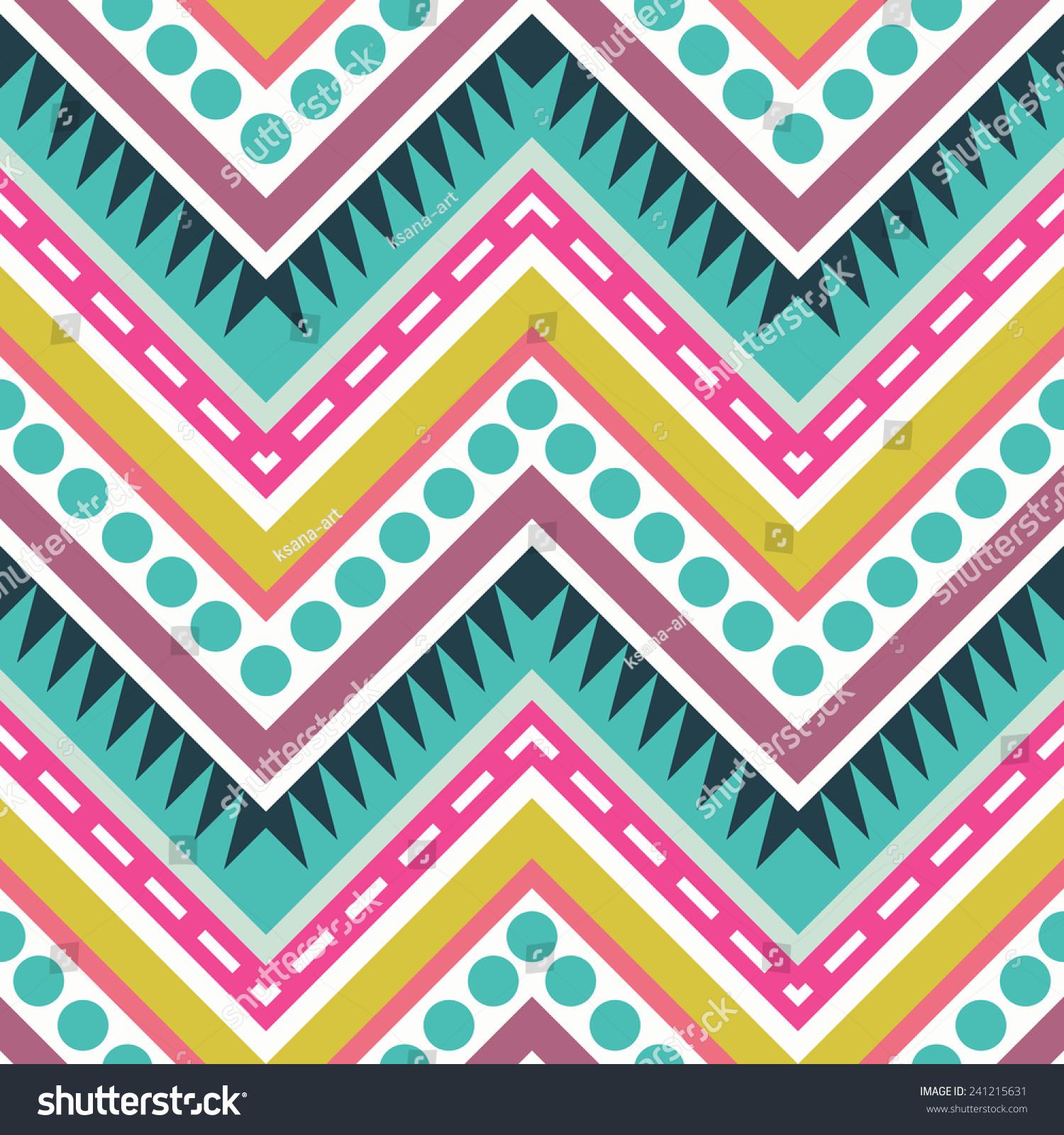zig zag wallpaper bright color-#30