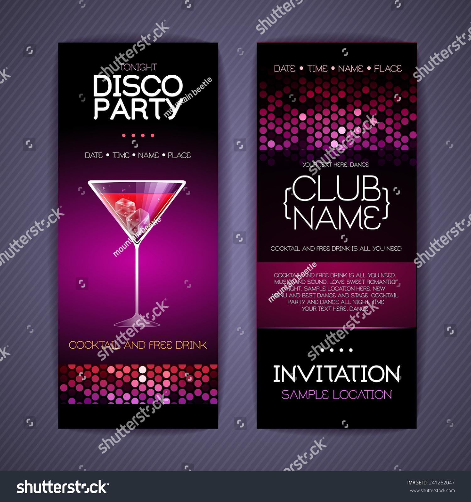 Disco party invitations – Disco Party Invitation Ideas