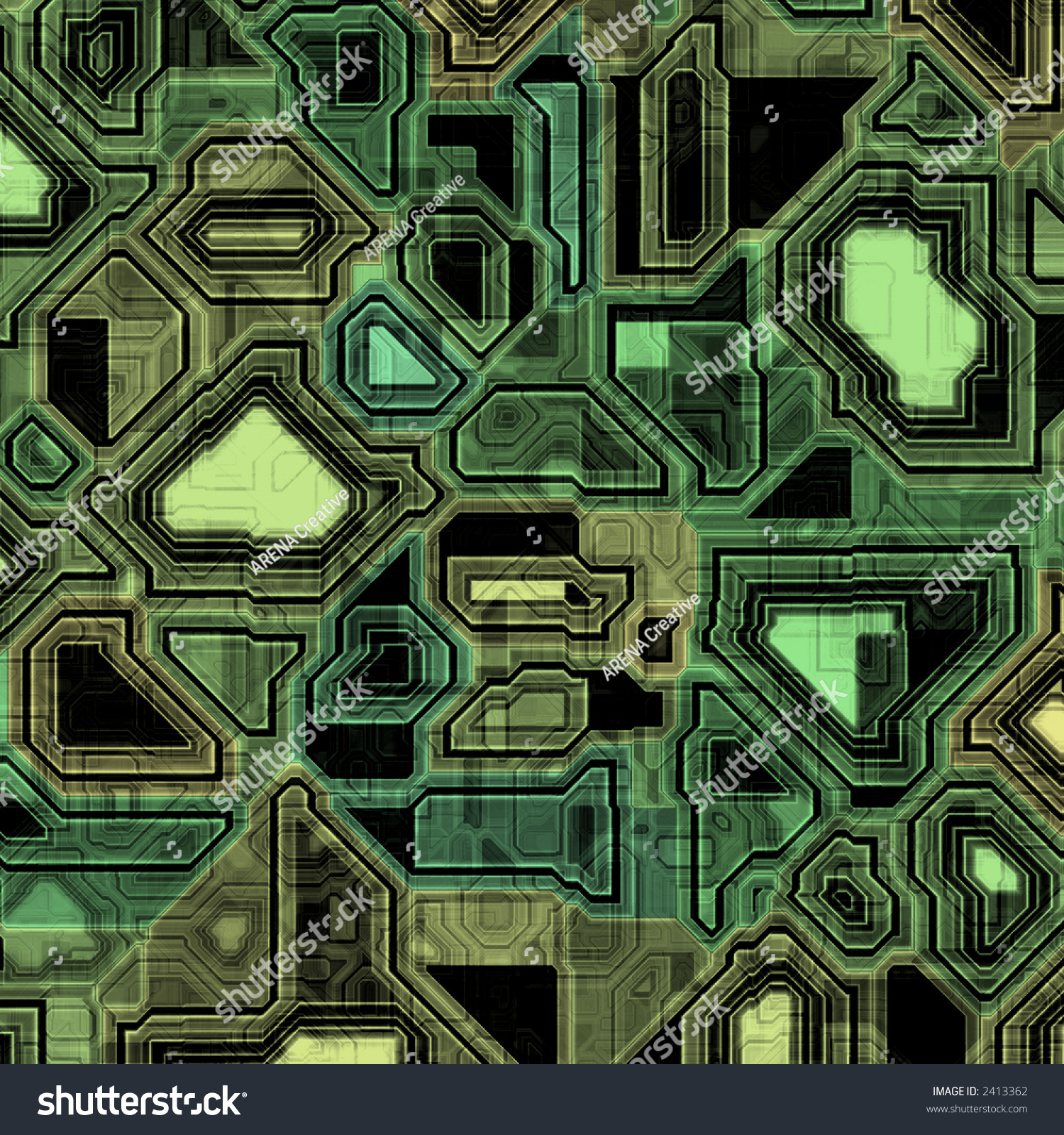 a hightech circuit board background it tiles seamlessly