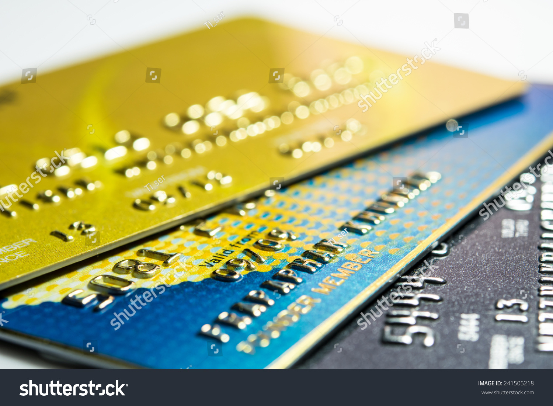 close credit card shopping online stock photo 241505218 shutterstock. Black Bedroom Furniture Sets. Home Design Ideas