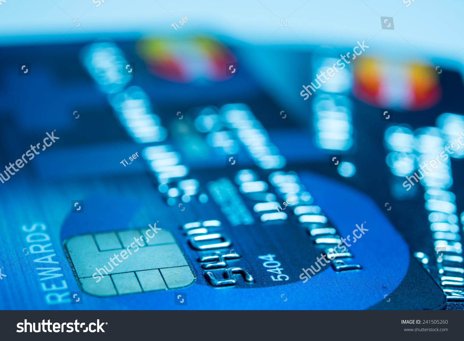 close up credit card for shopping online stock photo 241505260 shutterstock. Black Bedroom Furniture Sets. Home Design Ideas