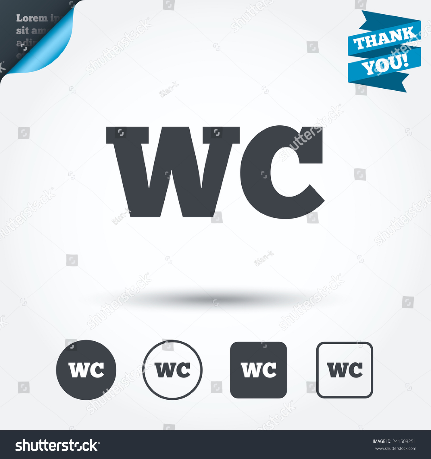 Toilet signs vector set stock images image 36323784 - Wc Toilet Sign Icon Restroom Lavatory Stock Vector 241508251 Stock Vector Wc Toilet Sign Icon Restroom Or Lavatory Symbol Circle And Square Buttons Flat