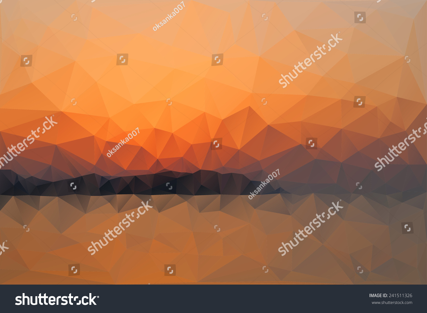 Website soft colors - Triangle Background Vector Polygon Art Soft Colored Abstract Illustration Web Mobile