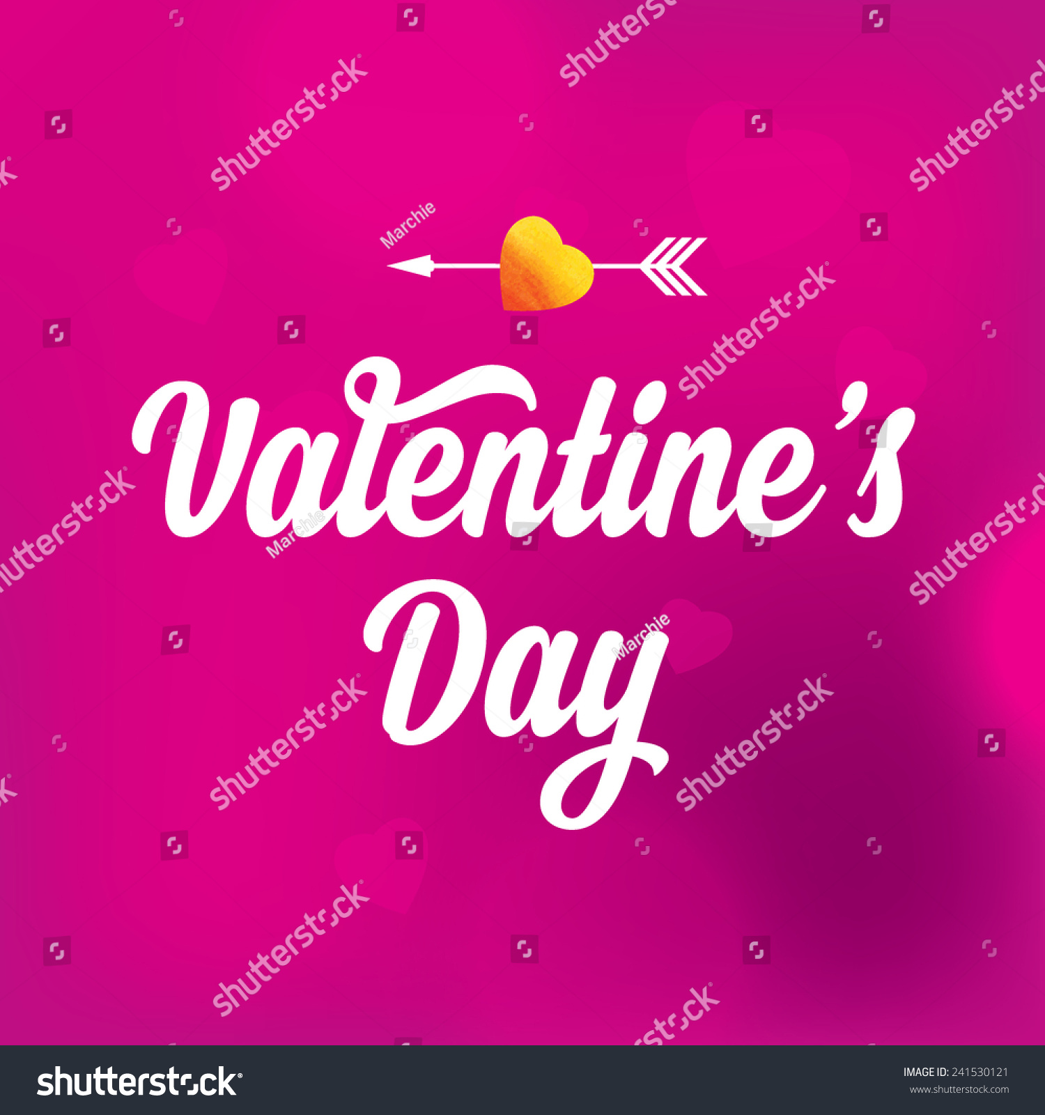 Valentines Day Love Quotes Valentines Day Postertypography Love Quote Stock Vector 241530121