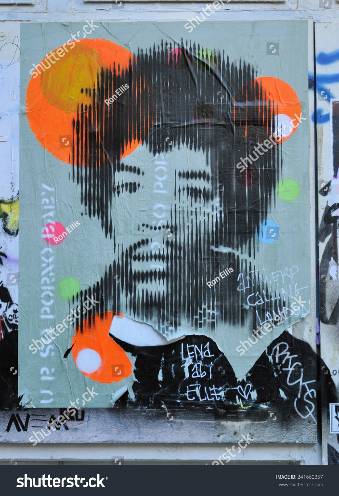 December 28. Poster Of Jimi Hendrix In A Yard