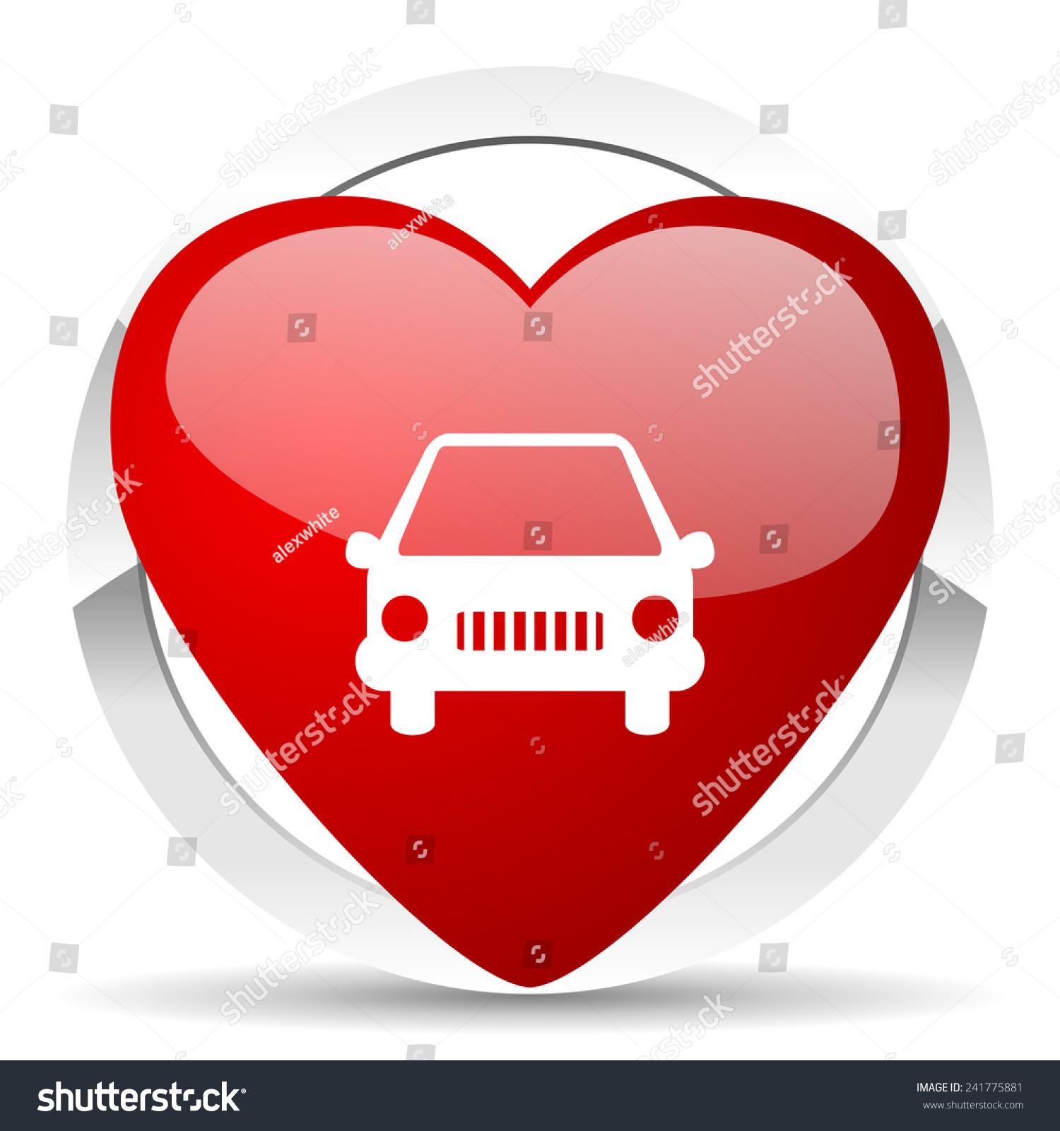 Car Valentine Icon Auto Sign   Valentine Auto